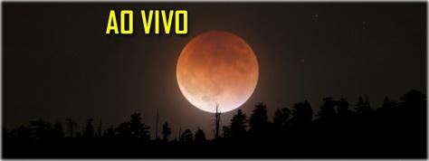 ao vivo eclipse lunar julho 2018